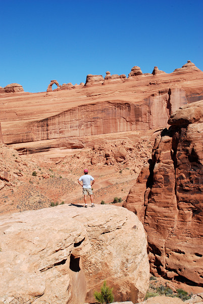 Delicate Arch Overlook, Arches National Park