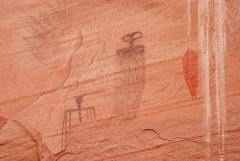 Pictographs, near Moab, Utah