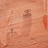 Pictographs, near Moab, Utah