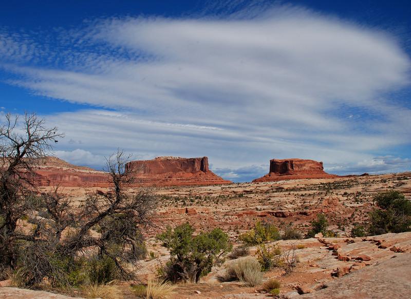 near Bartlett Rock, outside of Moab, Utah