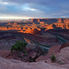 Dead Horse Point, Utah at sunrise