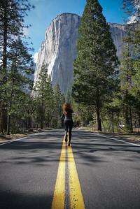 El Capitan in Yosemite National Park, 2019