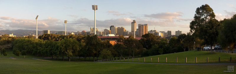 Adelaide City at Dusk