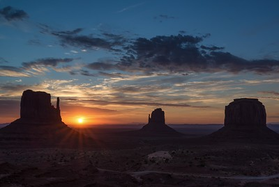A monumental sunrise.