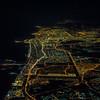 Dubai by night.
