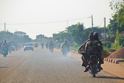 Click here to buy at Alamy. Keywords: Abomey Ketou Africa Benin Motorbike Transport MyID: 09AZb2083