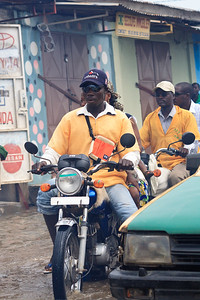 Click here to buy at Alamy. Keywords: Africa Benin Cotonou Motorbike Taxi Transport MyID: 09AZb2080