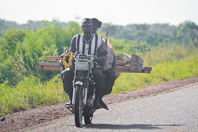 Click here to buy at Alamy. Keywords: Abomey Ketou Africa Benin Motorbike Transport MyID: 09AZb2104