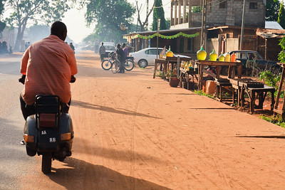 Click here to buy at Alamy. Keywords: Abomey Ketou Africa Benin Motorbike Transport MyID: 09AZa5294