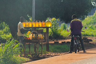 09AZb2090 Abomey to Ketou Africa Benin Stations Streetlife Streets Transport