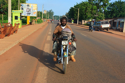 Click here to buy at Alamy. Keywords: Abomey Ketou Africa Benin Motorbike Transport MyID: 09AZa5291