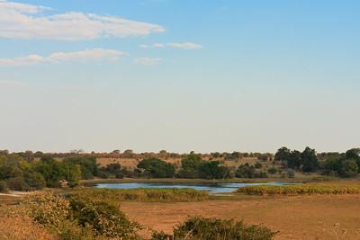 09AZa8314 Africa Botswana Okavango Delta River