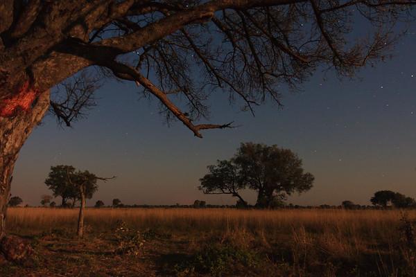 09AZa8369 Africa Botswana Okavango Delta River Seronga