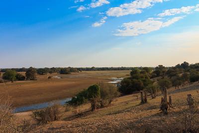 09AZa8313 Africa Botswana Okavango Delta River