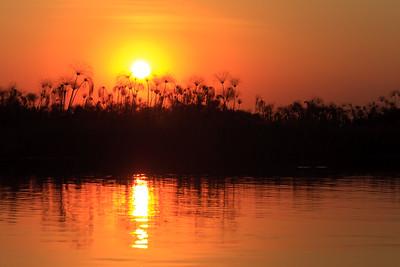 09AZa8347 Africa Botswana Okavango Delta River Seronga