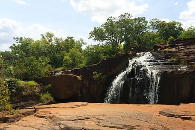 09AZa3714 Africa Bobo-Dioulasso Burkina Faso Karfiguela Falls