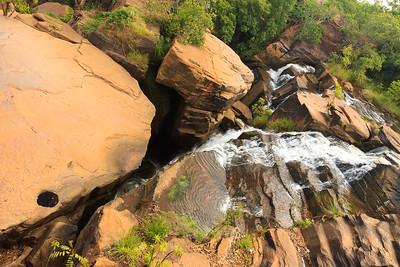 09AZa3711 Africa Bobo-Dioulasso Burkina Faso Karfiguela Falls