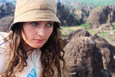 09AZa3766 Africa Burkina Faso Lu Barnham Sindou Peaks Women
