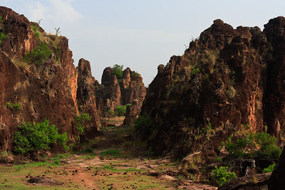 09AZa3772 Africa Burkina Faso Mountain Rock Sindou Peaks