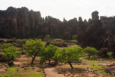 09AZa3773 Africa Burkina Faso Mountain Rock Sindou Peaks