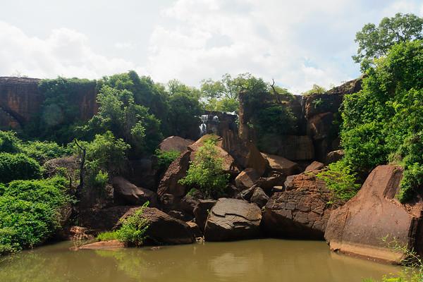 09AZa3725 Africa Bobo-Dioulasso Burkina Faso Karfiguela Falls