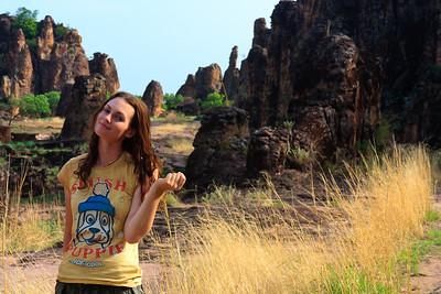 09AZa3776 Africa Burkina Faso Lu Barnham Sindou Peaks Women