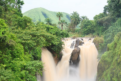 09AZa6365 Africa Cameroon Metchum Falls Water Waterfalls Wum