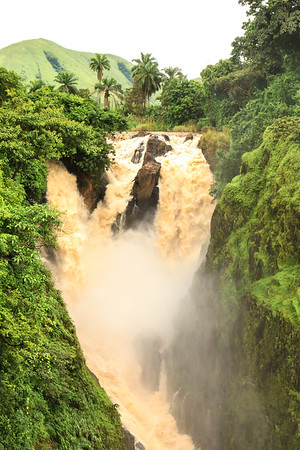 09AZa6348 Africa Cameroon Metchum Falls Water Waterfalls Wum