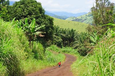 09AZb2457 Africa Cameroon Mountain Valley Wum Wum Bamenda