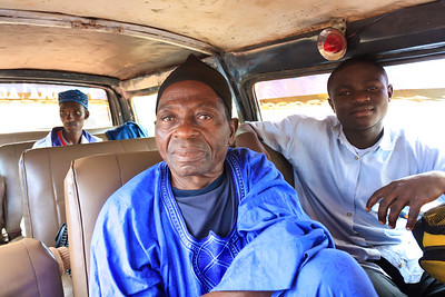 Click here to buy at Alamy. Keywords: Africa Blue Cameroon Minibus Old Transport Wum MyID: 09AZa6475