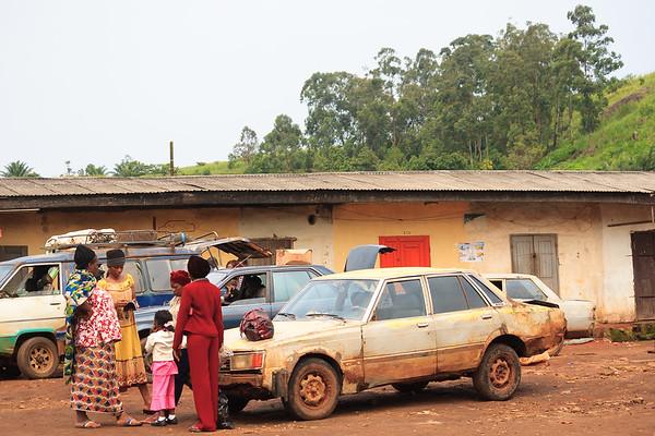 09AZb2431 Africa Cameroon Station Street Transport Wum