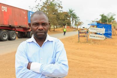 09AZa7304 Africa Democratic Republic Congo Angola Songololo