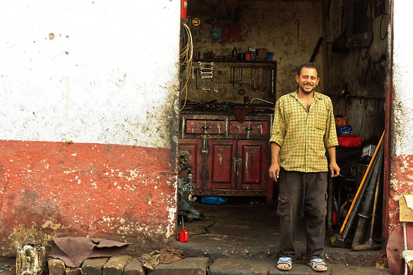 Click here to buy at Alamy. Keywords: Africa Assiut Egypt Red Street WorkShop Young Men MyID: 09AZa11224