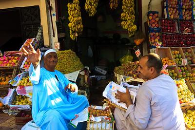 Click here to buy at Alamy. Keywords: Africa Apple Assiut Fruit Egypt Lemon Mango Market MyID: 09AZa11159