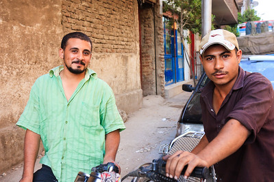 Click here to buy at Alamy. Keywords: Africa Assiut Egypt Street Young Men 2009 Africa MyID: 09AZa11238