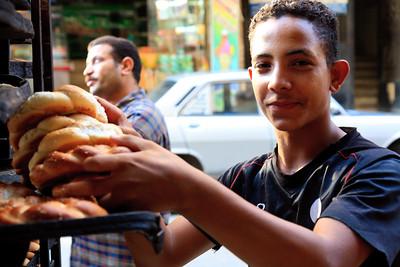 09AZa11171 Africa Assiut Bakers Egypt Grains Grains Nut beans