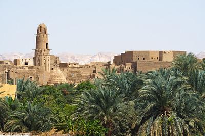 09AZb3378 Africa Qasr Oasis Egypt Islam Mosque West Desert