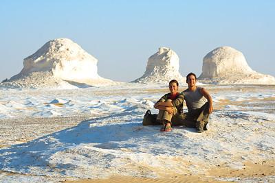 09AZb3441 Africa Egypt Lu Barnham West White Desert
