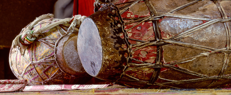 Drum, Debre Berhan Selassie church, Gondar