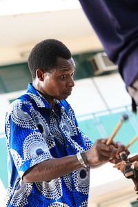 09AZa2397 Africa Bamako Mali Musicians Young Men