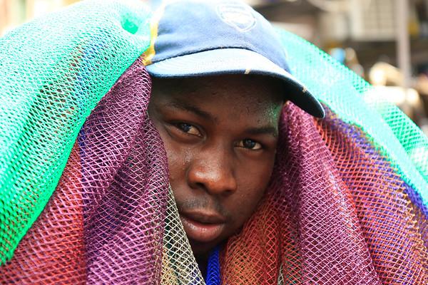 09AZa2479 Africa Balance Bamako Green Mali Market Purple Men