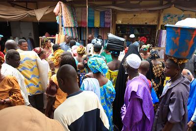 09AZa2455 Africa Bamako Clothes Store Mali Market Textiles