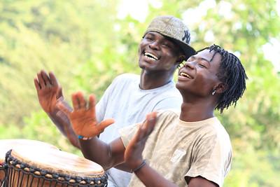 09AZa2424 Africa Bamako Mali Musicians Young Men