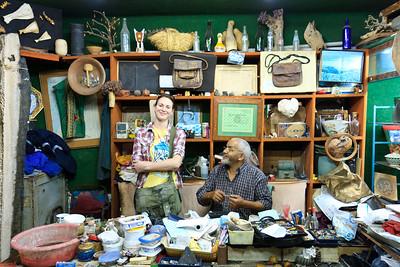 09AZa65 Africa Agadir Lu Barnham Morocco Shop Workshop