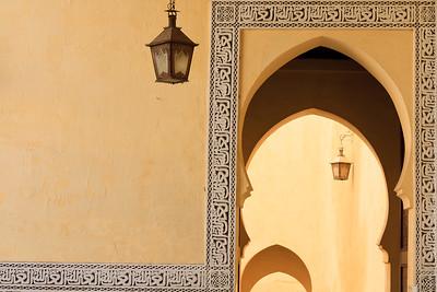 09AZa625 Africa Islam Meknes Morocco Tomb Moulay Ishmael