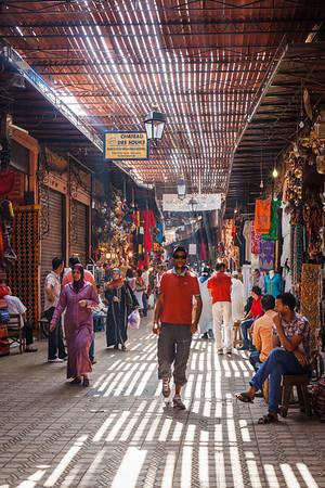 The Medina in Marrakech