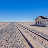 Abandoned Garub Railway Station in the Namib desert