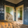 Ghost town in the Namib Desert