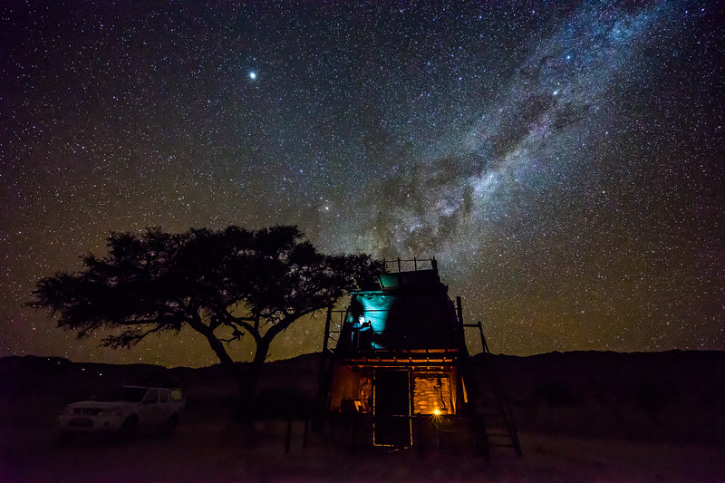 A night at Camp Gecko