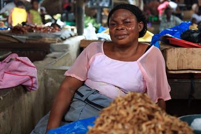 09AZa5376 Africa Calabar Cross River Nigeria Old Watt Market